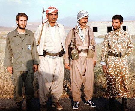 همراه با صياد شيرازي جنايتكار در سركوب مردم كردستان