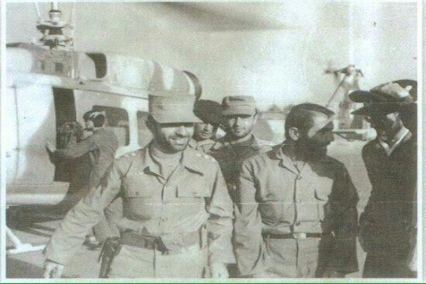 در عمليات كبير فروغ جاويدان (مرصاد  به روايت رژيم) براي قتل مجاهدين بازهم در كنار صياد شيرازي