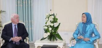 Sen McCain meets Rajavi-1