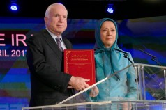 Sen McCain meets Rajavi-2
