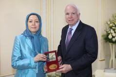 Sen McCain meets Rajavi-3